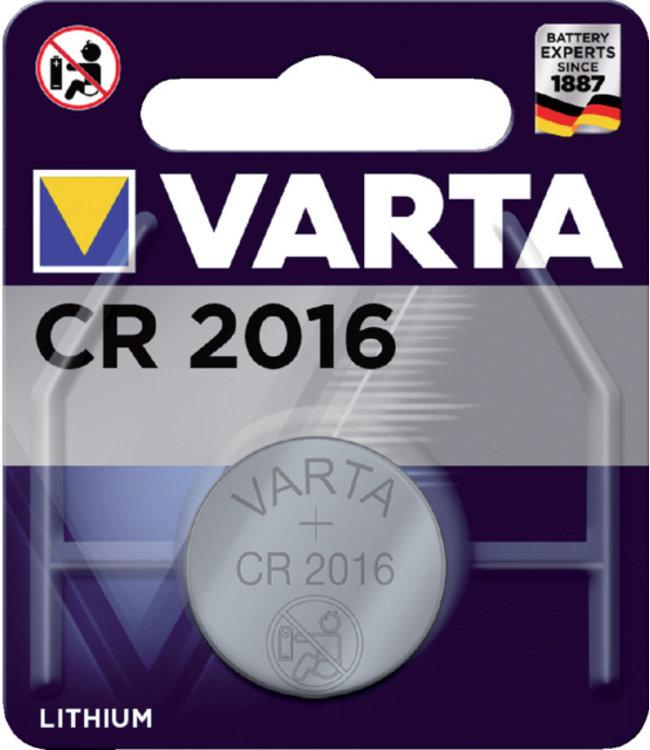 Varta BATTERIJ CR2016 LITHIUM