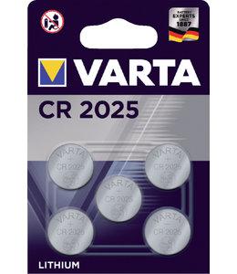 Varta BATTERIJ CR2025 LITHIUM 5STKS
