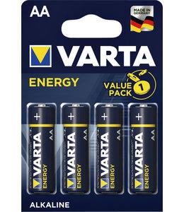 Varta BATTERIJ ENERGY AA 4STKS