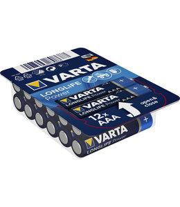 Varta BATTERIJ AAA HIGH E BOX 12STKS