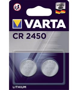 Varta BATTERIJ CR2450 LITHIUM 2STKS