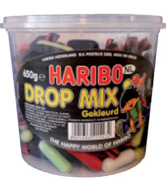 Haribo DROPMIX GEKLEURD 650GR