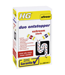 HG DUO ONTSTOPPER 2x500ML