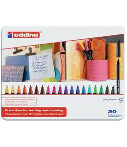 edding FINELINER 1200 1.0MM ASS 20STKS