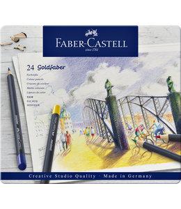 Faber Castell KLEURPOTLOOD GOLDFAB ASS 24STKS