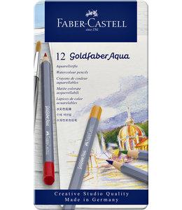 Faber Castell KLEURPOTLOOD GOLDFAB AQUA 12STKS