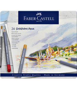 Faber Castell KLEURPOTLOOD GOLDFAB AQUA 24STKS