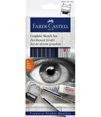 Faber Castell POTLOOD GOLDF 6 HARDHEDEN PLUS