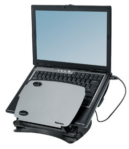 Fellowes LAPTOPSTANDAARD METAAL + USB