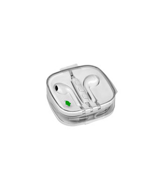 Green Mouse HEADSET 3.5MM JACK