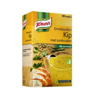 Knorr DRINKBOUILLON KIP TUINKR 80STKS