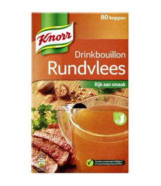 Knorr DRINKBOUILLON RUNDVLEES 80STKS