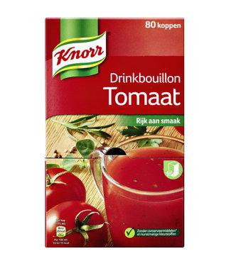 Knorr DRINKBOUILLON TOMAAT 80STKS