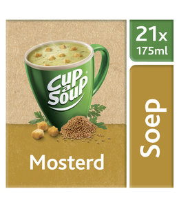 Unox CUP A SOUP MOSTERD 21STKS