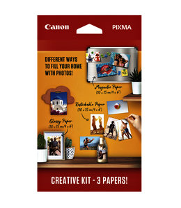 Canon FOTOPAPIER CREATIEVE KIT 60V 3SRT
