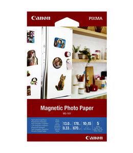 Canon FOTOPAPIER MG-101 MAGNEET 10X15 5V