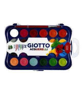 Giotto GOUACHE 24 KLEUREN 30MM
