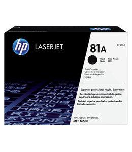 HP TONERCARTRIDGE 81A - CF281A 10.5K ZW