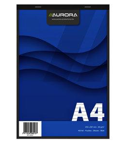 Aurora SCHRIJFBLOK A4 LIJN 10STKS