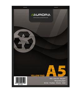 Aurora SCHRIJFBLOK A5 LIJN GL 5STKS