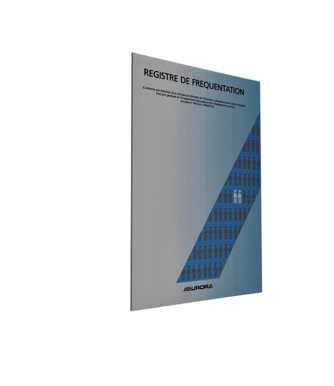 Aurora AANWEZIGH-REGISTER A4 FRANST 25STKS