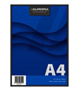 Aurora SCHRIJFBLOK A4 RUIT 5X5 10STKS
