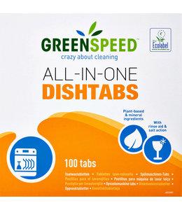Greenspeed VAATWASTABLET ALL-IN ONE 100STKS