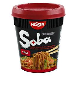 Nissin NOODLES SOBA CHILI 8STKS
