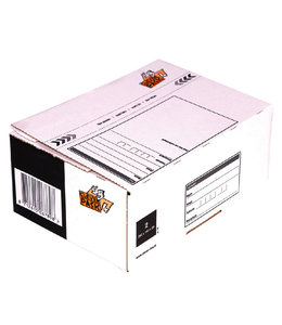 Cleverpack POSTPAKKETBOX 200x140x80MM 25STKS