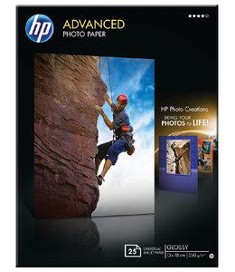 HP FOTOPAPIER Q8696A 13X18 250GR 25VEL
