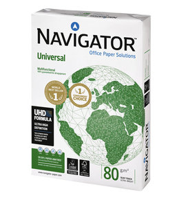 Navigator KOPIEERPAPIER UNIV A4 80GR WT 500VEL