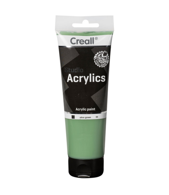Creall ACRYLVERF STUDIO 59 OLIJFGROEN
