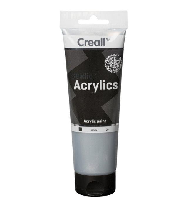 Creall ACRYLVERF STUDIO 20 ZILVER