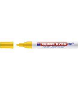 edding VILTSTIFT 8750 ROND GEEL 10STKS