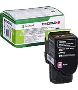 Lexmark TONERCARTRIDGE C242XM0 3.5K RD