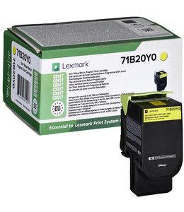 Lexmark TONERCARTRIDGE 71B20Y0 2.3K GL