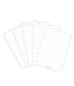 Correctbook UITBR SET A5 PUNT 5STKS
