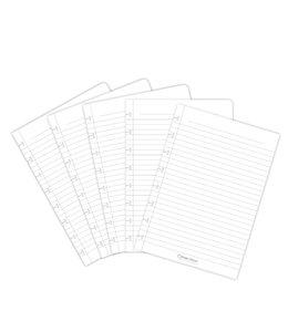 Correctbook UITBR SET A5 LIJN 5STKS