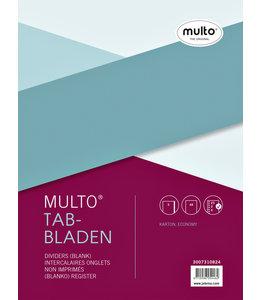 Multo TABBLAD 7310824 23R KRT A4 5DELIG