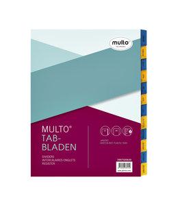 Multo TABBLAD 7320630 23R KRT A4 12DELIG