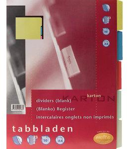 Multo TABBLAD 7311720 23R KRT A4 10DELIG