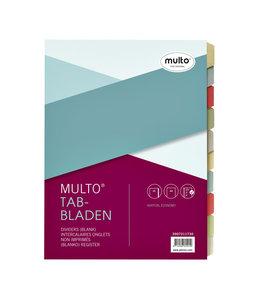 Multo TABBLAD 7311730 23R KRT A4 10DELIG