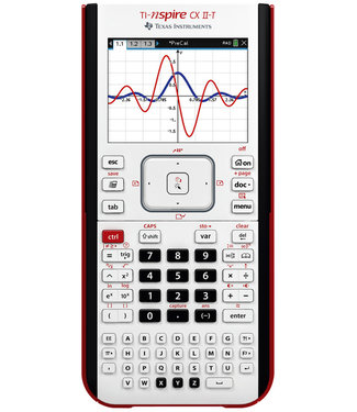 Texas Instruments REKENMACHINE TI-NSPIRE CX II-T