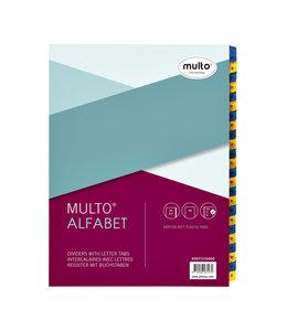 Multo TABBLAD 7310400 23R KRT A-Z