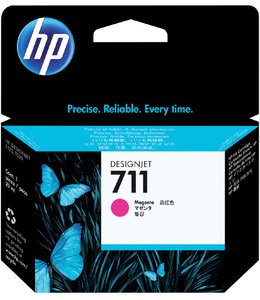 HP INKCARTRIDGE 711 - CZ131A RD
