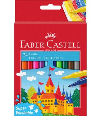 Faber Castell KLEURSTIFT ASS 24STKS
