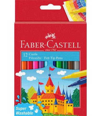 Faber Castell KLEURSTIFT ASS 12STKS