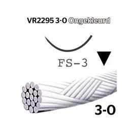 VR2295 Vicryl® Rapide 3-0 Ongekleurd, met FS-3 (16mm) naald, per doos van 36 stuks