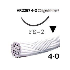 VR2297 Vicryl® Rapide 4-0 Ongekleurd, met FS-2 (19mm) naald
