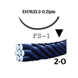 EH7633H Silk® 2-0 met FS-1 (24mm) naald